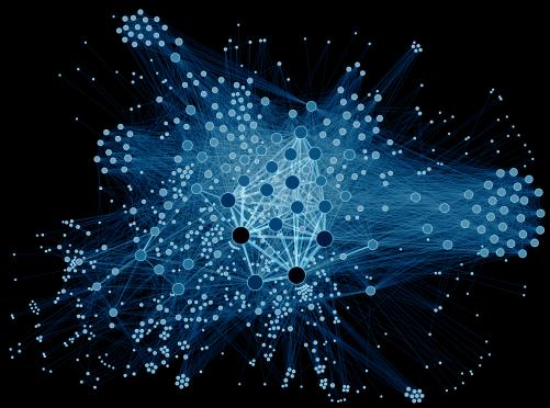 data-analysis-network-blue